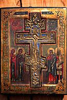 Russia _ Crucifiction Icon
