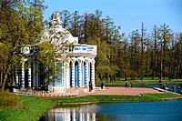 Russia _ St Petersburg _ Gardens of Catherine 1st Palace