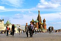 Russia _ Moscow _ Red Place _ St Basile the Blessed