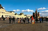 Russia _ Moscow _ Red Place _ St Basile the Blessed _ The Goum