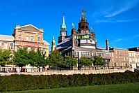 Canada _ Quebec _ Montreal _ Notre Dame de Bon Secours and Bonsecours Market