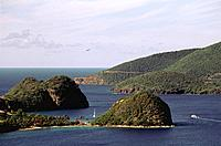 French Caribbean _ Caribbean Islands _ Guadeloupe _ Basse Terre _ Tillet Cove