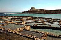Malta _ Gozo _ Salt Marsh _ Qbajjar