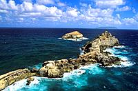 French Caribbean _ Caribbean Islands _ Guadeloupe _ Grande Terre _ Cove of the Gourde
