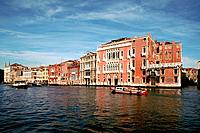 Italy _ Venice _ Great Canal _ Pisani Moretta Palace