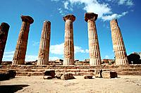 Italy _ Sicily _ Agrigente _ Herculus Temple