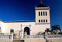 Cuba _ Oriente _ Holguin _ Parque Peralta _ San Isidoro Church
