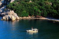 Turkey _ Mediterranean Coast _ Antalya Region _ Olympos Site _ Beach