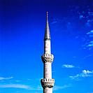 Turkey _ Istanbul _ Sultanahmet District _ The Blue Mosque _ Minaret