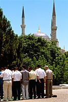 Turkey _ Istanbul _ Sultanahmet District _ Priest
