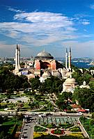 Turkey _ Istanbul _ Sultanahmet District _ St Sophie Mosque