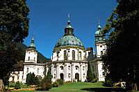 Germany - Bavaria - Ettal's abbey (thumbnail)