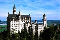 Germany _ Bavaria _ Neusschwanstein Castle