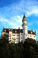 Germany _ Bavaria _ Neussschwanstein Castle