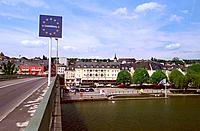 Luxembourg _ Border with Germany _ Remich
