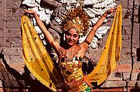 Indonesia _ Bali _ Balinese dancer