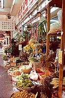 Hong_Kong _ marche de quartier _ Mongkok a Kowloon