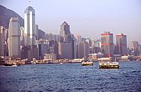 Hong_Kong _ Baie de Hong_Kong _ Central ditrict