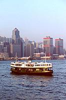Hong_Kong _ Ferry entre Hong_kong _ Presqu´ile de Kowloon
