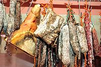France _ Pyrenees Orientales _ Charcuterie Catalane