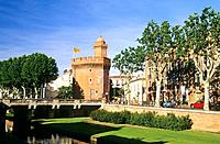 France _ Pyrenees Orientales _ Le Castillet _ Perpignan