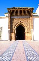 Morocco _ Le Moyen_Atlas _ Meknès_ Imperial City _ Moulay Ismaïl Mosque