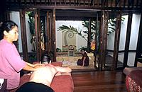 Spa _ Body massage _ Preparing milk and honey bath with rose petals