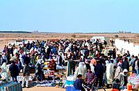 Tunisia _ The South _ Tozeur Region _ marketplace