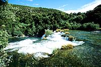 Croatia _ Parc national Krla _ Cascade Skradin
