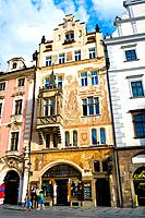 Czech Republic _ Prague _ Staré Mesto Prague 1 District The old city _ Old city Square Staromestské namesti