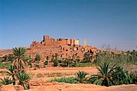 Morocco _ South _ Ouarzazate _ Tiffoultoute Kasbah
