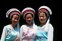China _ Yunnan _ Dali _ Young Bai girls