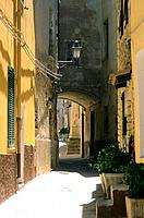 Italy _ Sardinia _ North Region _ Castelsardo _ Old city