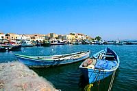 Italy _ Sardinia _ South Region _ San't Antioco Island _ San't Antioco Port