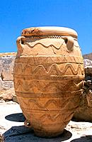 Greece _ Crete _ Knossos _ Minoens Site _ Amphoras