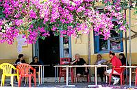Greece _ Crete _ Coffeehouse _ Kritsa Surroundings