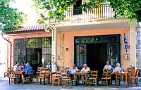 Greece _ Crete _ Coffeehouse
