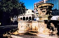 Greece _ Crete _ H&#233;raklion _ Venizeloux Square _ Morosini Fountain