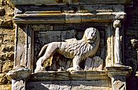 Greece _ Crete _ Héraklion _ Venetian Lion _ Fortress of Kastro Koulès