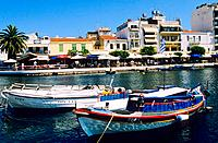 Greece _ Crete _ Agios Nikolaos _ Docks on the Lake