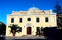 Greece _ Crete _ Agios Titos _ Bysantine Church