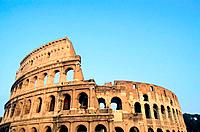 Italy _ Rome _ The Forum _ The Colosseum