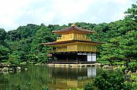 Japan - Kyoto - Kinkaku Ji Temple - The Golden pavilion (thumbnail)