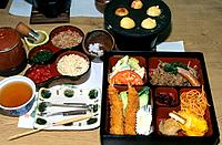 Japan _ The west of Honshu _ Nara _ Gastronomy _ Tempura Restaurant