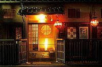 Japan _ Kyoto _ Gion District _ Chaya house of tea
