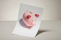 Photograph of a piggy bank