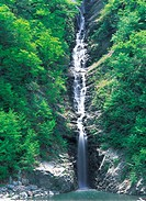 Waterfall,Jeongseon_gun,Gangwon,Korea