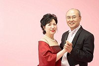 Middle_aged Korean Couple Dressed up
