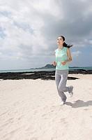Woman Jogging,Korea