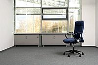 still life of chair in empty office space